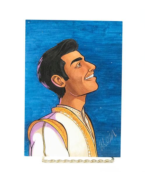 Aladdin's Gaze