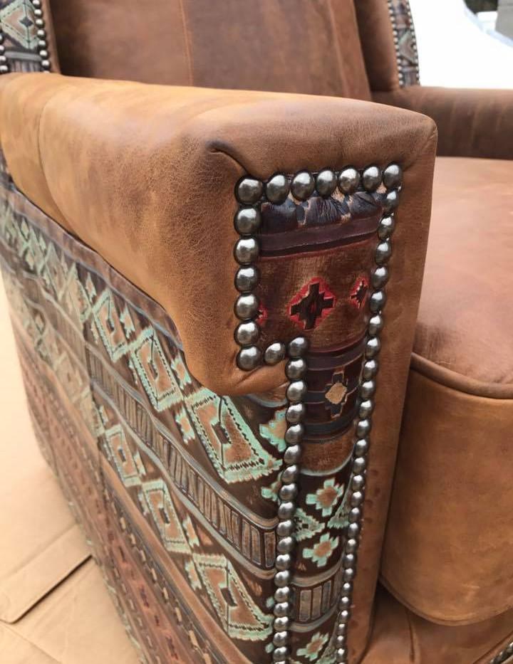 Leather Closeup