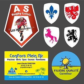 stickers imprimerie M prim Saint Beauzir