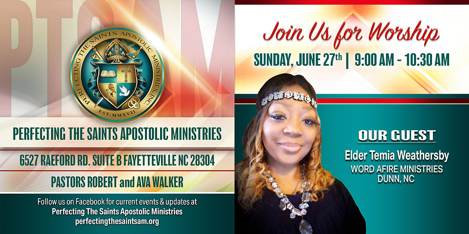 Sunday Worship Guest