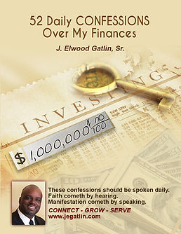 Confessions Over My Finances