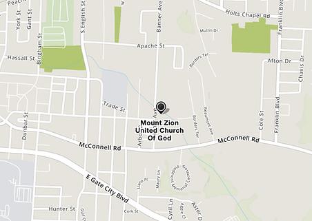 Mount Zion United COG map