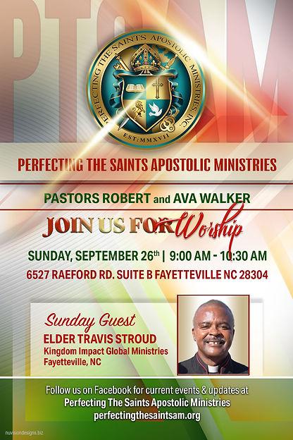 Sunday Sept 26th Worship