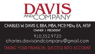 David and Company Business Card
