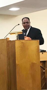 Pastor Larry Bellamy