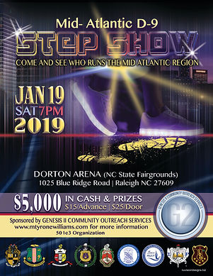 Stepshow flyer