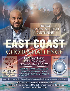 choir challenge flyer