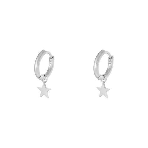 My shine earring - zilver