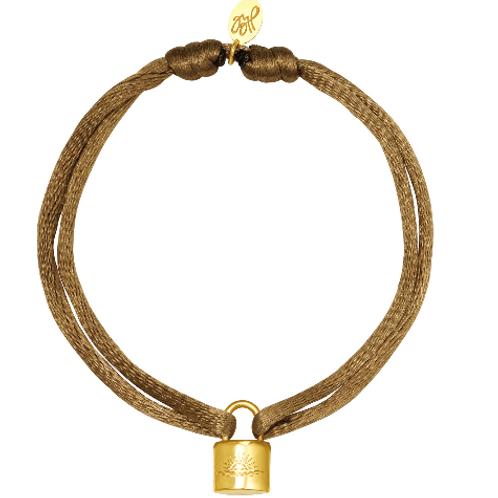 Let the sun shine bracelet - brown