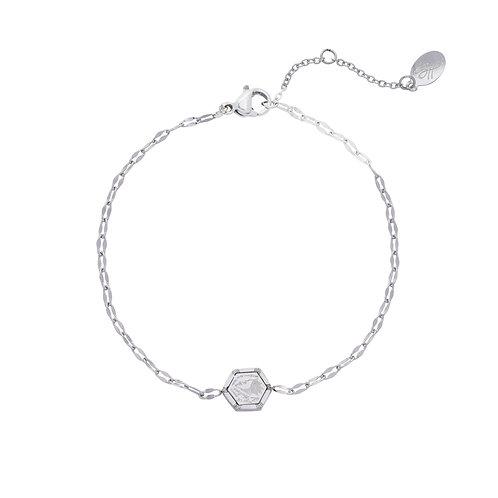 Love it bracelet - zilver