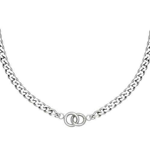 Joy necklace - zilver