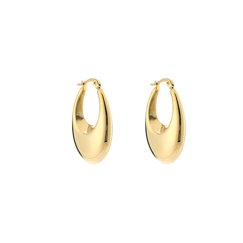 Pumpkin spice earring - goud