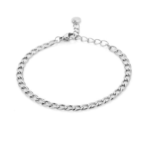 Hi pumpkin bracelet - zilver