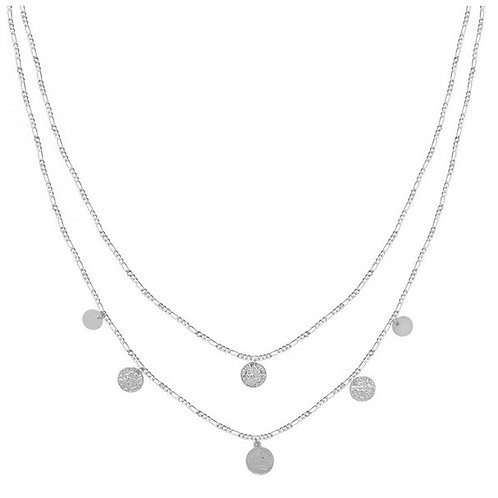 Necklace Royal coins - silver