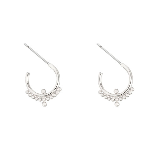 Bali vibes earring I - zilver