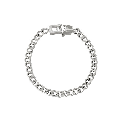 Be my world bracelet - zilver