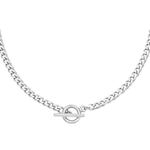 U remind me necklace - zilver