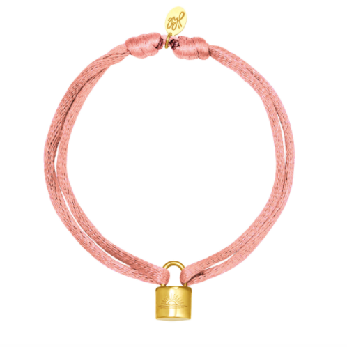 Let the sun shine bracelet - pink