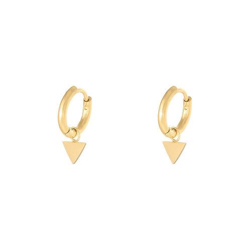 Ella earring - goud