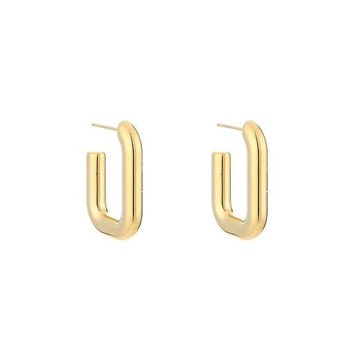 Rock me earring - goud
