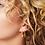Thumbnail: Pretty cone earring - zilver
