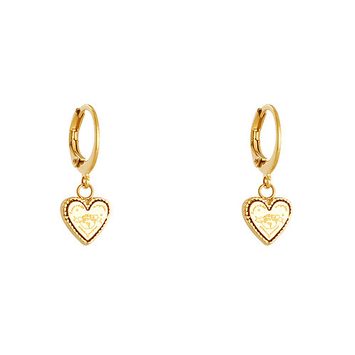 Ticket to anywhere earring - goud