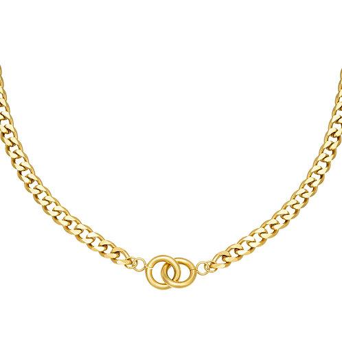 Joy necklace - goud