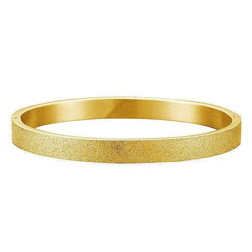 Time to leave bracelet - goud