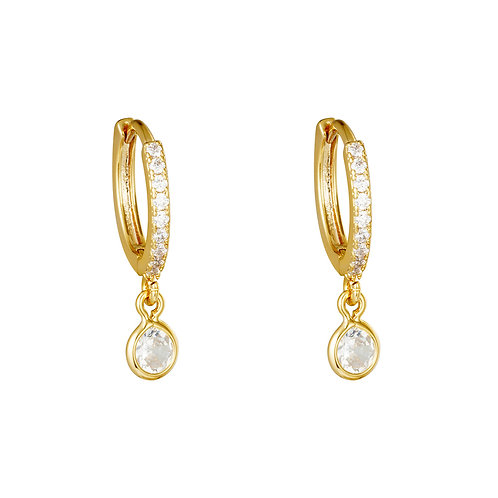 Charming earring - goud