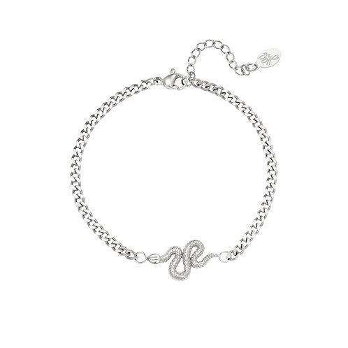 Keep a secret bracelet - zilver