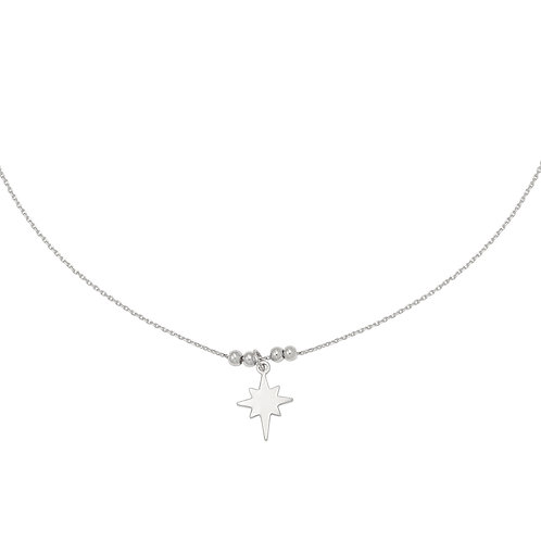 Be my star necklace - silver