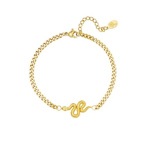 Keep a secret bracelet - goud