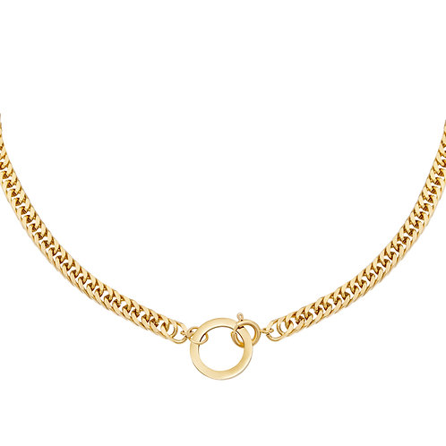 Play it again necklace - goud