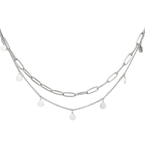 Just like love necklace - zilver
