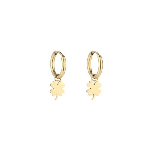 Luck earring - goud