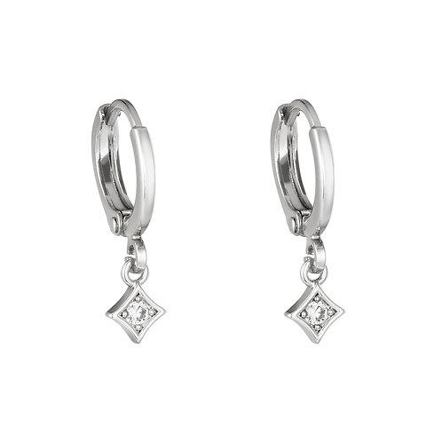 Adorable earring - zilver