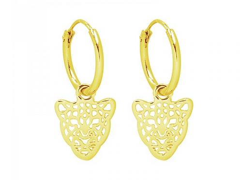 Get em tiger earring - Gold