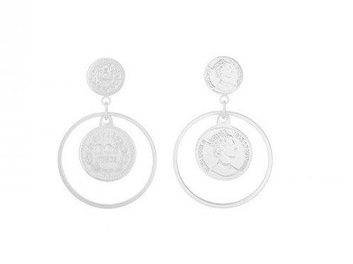La reina earring - Silver