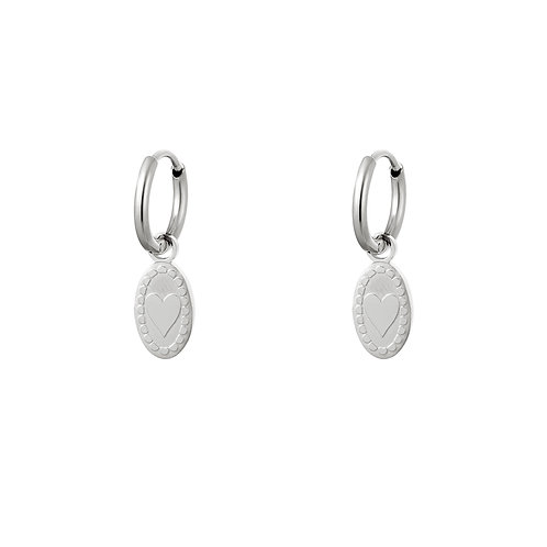 Adore me earring - zilver