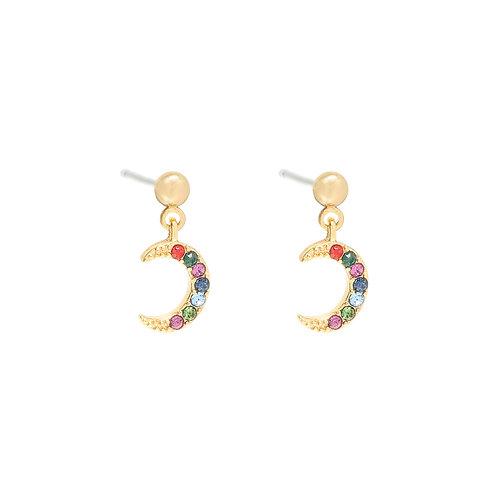 Moonlight earring - goud