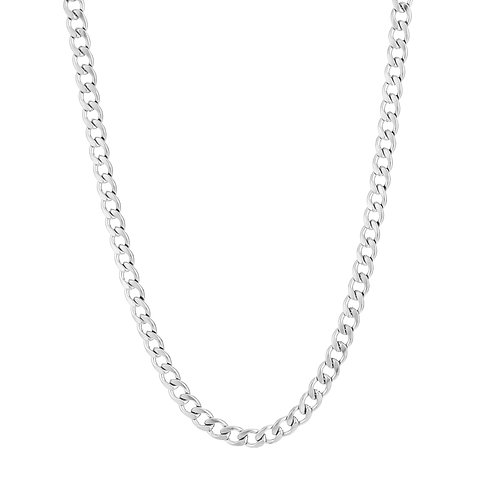 Chunky necklace - zilver