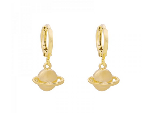 Earring saturn - Gold