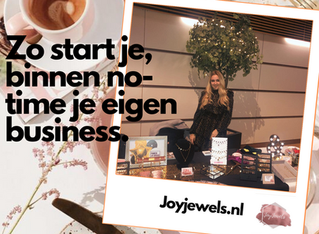 Zo start je binnen no-time je eigen business!