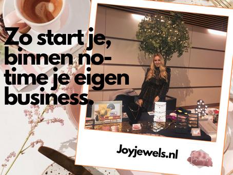 Zo start je binnen no-time je eigen business!