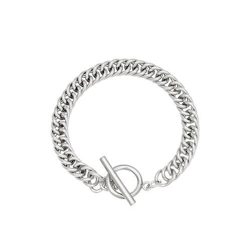 Level of love bracelet - zilver