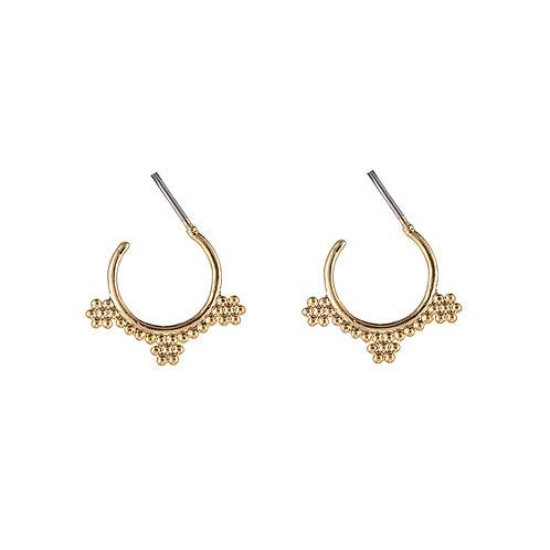 Bali vibes earring II -  goud