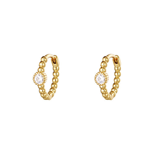 Back to love earring - goud