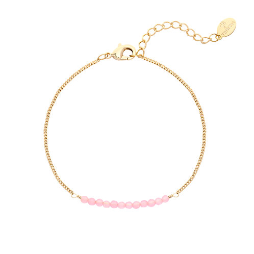 Let me go bracelet - goud