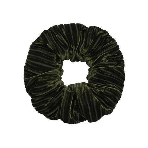 Scrunchie - Crushed green