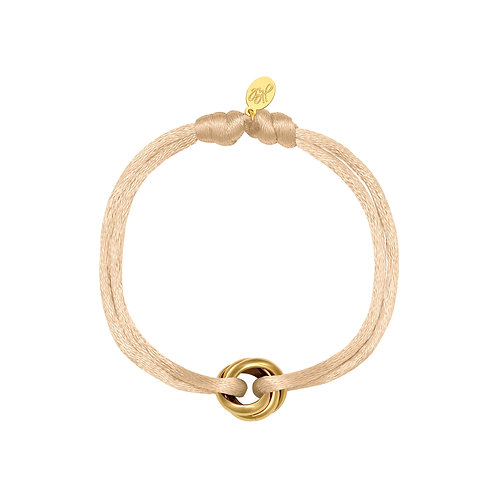Iconic bracelet - beige